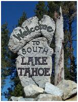 Tahoe Airport Welcome Sign
